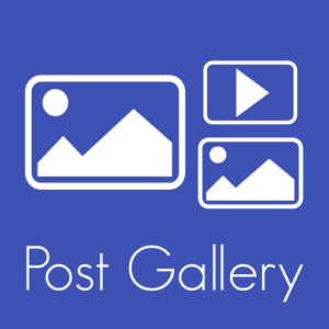 Post gallery icon