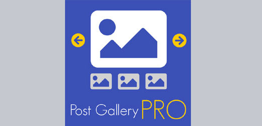 Post Gallery PRO version 1.1.1
