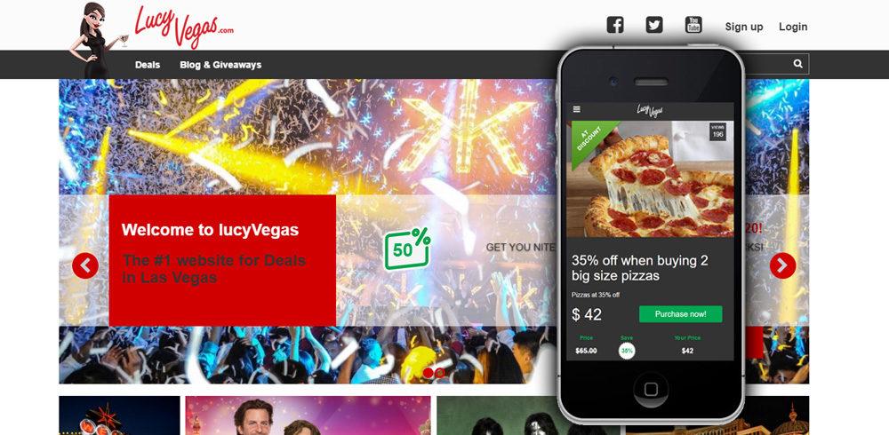 LucyVegas.com portfolio summary image.