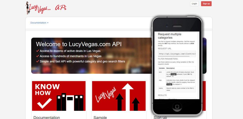 LucyVegas API