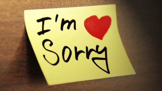 Late Apology (from Early September incident)