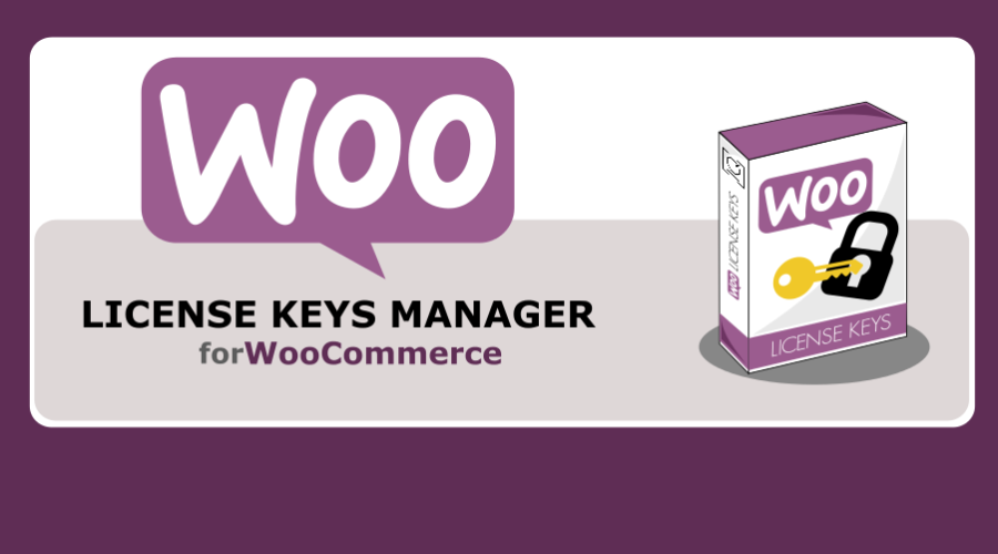 WooCommerce License Keys banner