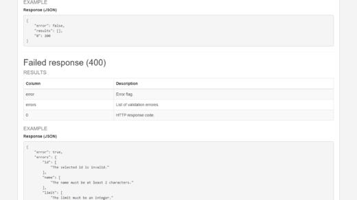 LucyVegas API documentation